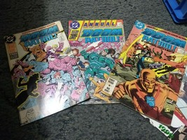 Doom Patrol Annual #1(1988)FN & issue# 1VG/FN, 9 FN (1981) DC 3 book lot - $9.00