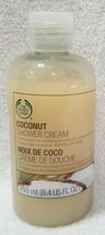 The Body Shop COCONUT Shower Cream Creamy Soap-Free Cleansing 8.4 oz/250mL New - $19.79