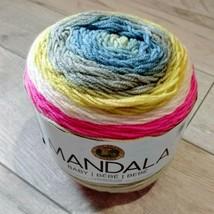 Lion Brand Mandala Baby Yarn ~ Far Far Away ~ New ~ Free Shipping - $11.99
