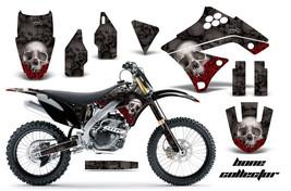 Dirt Bike Graphics Kit Decal Sticker Wrap For Kawasaki KX250F 09-12 BONE... - $168.25