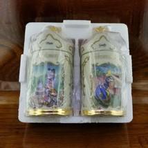 NEW Disney LENOX Porcelain Spice Jars Pluto & Goofy Horseradish Nutmeg - $49.95