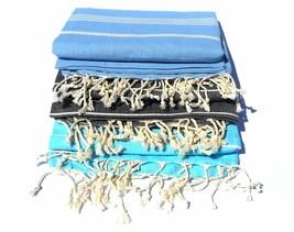 TURKISH HAMMAM HAMAM PESHTAMAL PESHTEMAL COTTON BATH TOWEL  SPA BEACH PA... - $13.93+