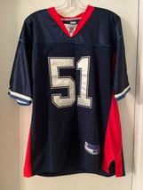 REEBOK Buffalo Bills PAUL POSLUSZNY #51 NFL Jersey Authentic Sewn Blue M... - $24.75