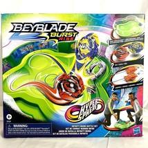 Beyblade Burst Rise Hypersphere Infinity Brink Battle Set 2 Tops Beystadium - $74.57