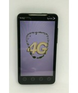 HTC Model PC36100 EVO 4G Sprint Black Read Description  - $9.89