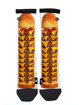 Custom Cheese Burger Socks ALL Sizes FAST SHIPPING - $12.99