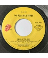 The Rolling Stones – She's So Cold / Send It To Me 45 rpm 1980 Rock Viny... - $7.84