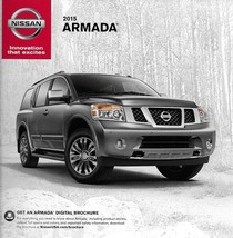 2015 Nissan ARMADA sales brochure catalog folder US 15 SV SL Platinum Re... - $6.00