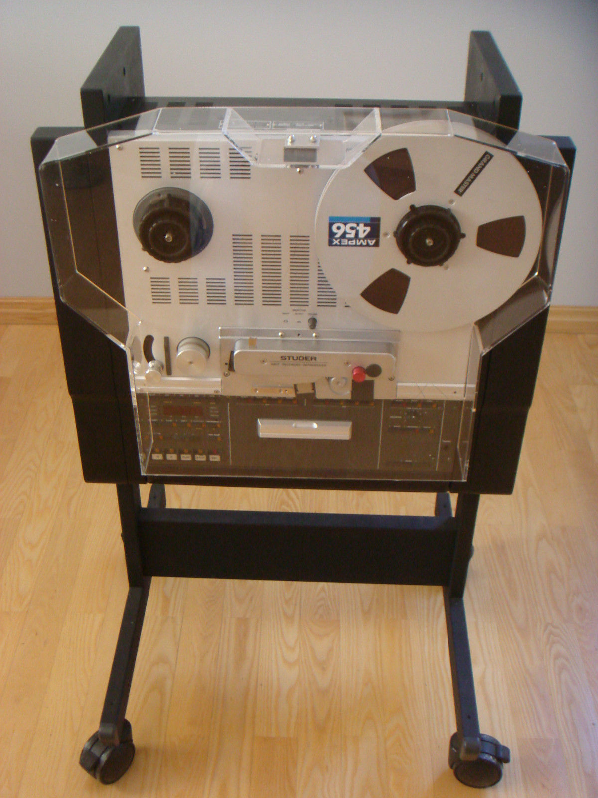 NEW DUST COVER with REEL EXTENSIONS Studer A-807 A-810 A-812 A-820 B-67 Recorder