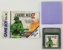MI) Army Men 2 (Nintendo Game Boy Color, 2000) Video Game Cartridge Test... - $9.89