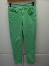 W13593 Womens GAP 1969 Mint Green Premium Super SKINNY JEANS Ankle Denim 0 - $28.92