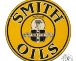 Vintage Garage Sign Metal Decor Gas and Oil Sign - Smith Pure Independent Oils
