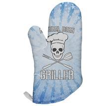 Natural Born Griller Blue All Over Oven Mitt - $16.95