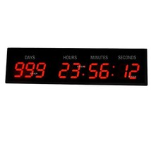 3'' 9Digits Large LED Wall Clock Countdown Count Up Event Timer For Spec... - $203.73
