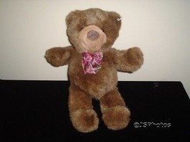 Gund Heads and Tales Brown Bear 14 Inch Handmade Retired - $83.60