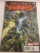 2015 Marvel Secret Wars 6 of 8 Thanos Cover Comic Book - $4.95