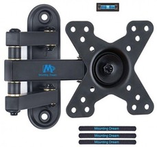 Mounting Dream MD2463 TV Monitor Wall Mount Bracket For Most 10-26 Inch ... - $36.99