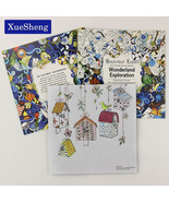 XUES® 1PC/Set 24 Pages Wonderland Exploration Coloring Book For Children - $1.17