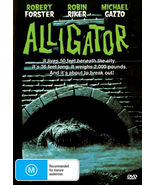 ALLIGATOR  Robert Forster  Robin Riker Horror  ALL REGION DVD  - $16.90
