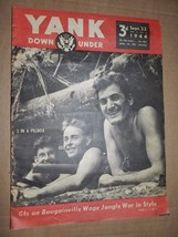 YANK MAGAZINE DOWN UNDER ARMY WEEKLY SEPT 22 1944 WWII MARIE MCDONALD PINUP - $6.93