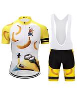 Minions Funny Cycling Jersey Bib Short Set - $29.00+