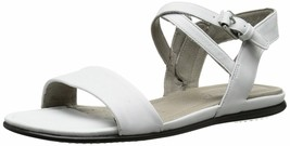ECCO Womens Touch Ankle Gladiator Sandal - White Leather - EU 41 10 - 10.5 - $50.49
