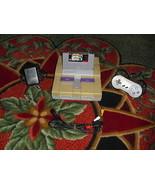 Nintendo SNES White Console (NTSC) MARIO ALL-STARS  - $89.09
