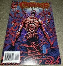 Marvel Comic Carnage Wonderful Life 1 NM Rare Htf low Print 10/96 Spider... - $19.99