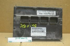 07-08 Chrysler Sebring Engine Control Unit ECU P05033708AF Module 248-9b5 - $34.99