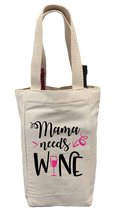Mother's Day Wine Gift Bag, Mama Needs Wine Gift Bag - $14.99