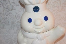 "Pillsbury Doughboy Ceramic Cookie Jar 13"" 1996 Benjamin & Medwin Co Vintage - $38.56"
