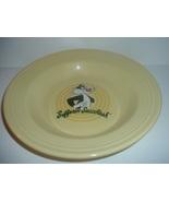 "Homer Laughlin Fiesta Yellow Sylvester Warner Bros 9"" Soup Bowl - $59.99"