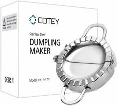 "COTEY 4.75"" Stainless Steel Dumpling Maker image 1"