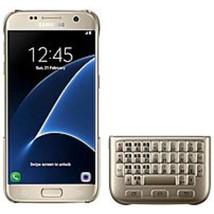 Samsung EJ-CG930UFEGGB Qwerty Keyboard Cover For Galaxy S7 - Gold - $35.61