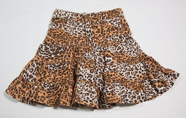 THE CHILDRENS PLACE TCP GIRLS SIZE 5 SKIRT LEOPARD CHEETAH ANIMAL PRINT - $10.93