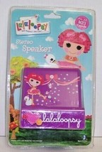 Lalaloopsy Kid's Stereo Speaker For All MP3 Players SEALED NEW FREE SHIP... - $11.88