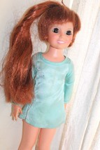 "Ideal Toy Corp. CRISSY Growing Red Hair 18"" Vinyl Doll Vintage 1968 Orig... - $28.71"