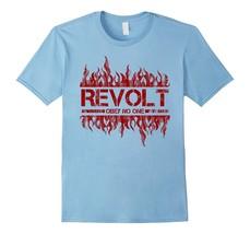 New Shirt - REVOLT OBEY NO ONE T-Shirt Men - €13,27 EUR+