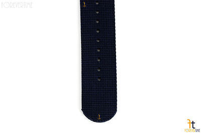20mm para Luminox Nailon Tejido Azul Oscuro Correa para Reloj de Pulsera 4