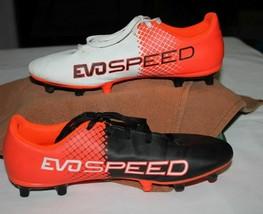 Puma EvoSPEED  Cleats Size 6C  Ladies/Youth   Orange/Black/White  evo speed   - $18.99