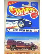 1995 Hot Wheels #351 Model Series 11/12 POWER ROCKET Purple w/Chrome 3 S... - $9.50