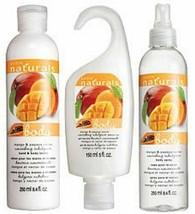 Avon Naturals Mango & Papaya Nectar Trinity Gift Set - $24.48