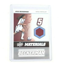 2008 Upper Deck MLS Materials #MM-16 Kyle Beckerman Colorado Rapids Socc... - $7.96