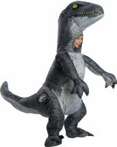 Rubies Jurassic World Velociraptor Aufblasbar Kinder Halloween Kostüm 641045 - $68.46
