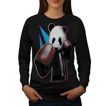 Panda Box Animal Jumper Random Fun Women Sweatshirt - $18.99