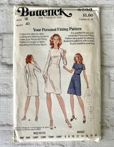 Butterick Sewing Pattern Dress 3002 Size 18 Personal Fit Vintage New FF ... - $9.90