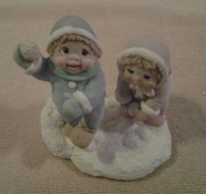 """1996 Dreamsicles Kids """"SNOWBALL FIGHT"""" Collectible #DK037 - NIB - $8.90"""