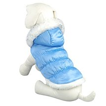 NACOCO Teddy Dog Clothes Winter Cotton-Padded Jacket with Hood Princess ... - $16.82