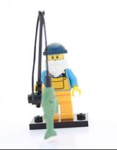 Nuovo Lego Figure Mini Serie 3 8803 - Fisherman - $21.21