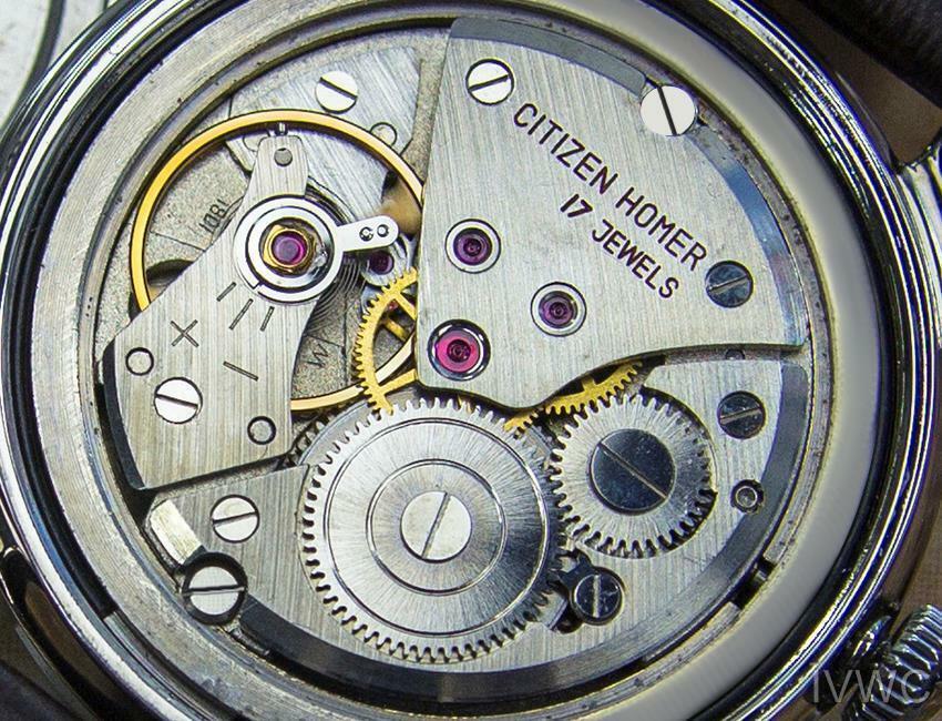 Citizen Homer Data Giapponese da Collezione Uomo Vintage Abito Watch c1960s B18 image 8